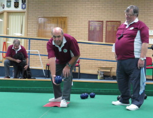 Visually impaired bowlers